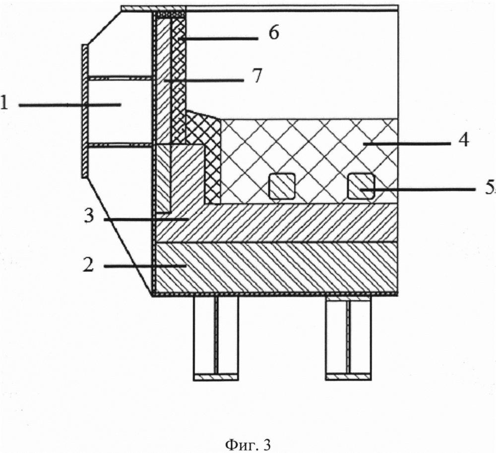 Алюминиевый электролизер с утепленной бортовой футеровкой