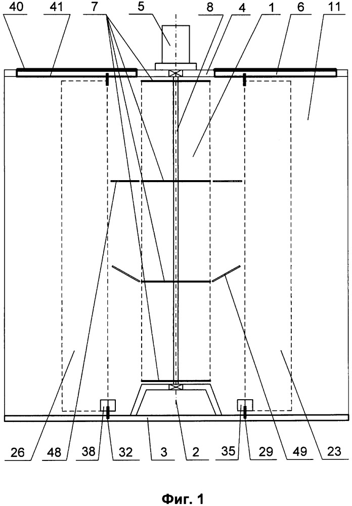 Гелиоветровая энергетическая установка