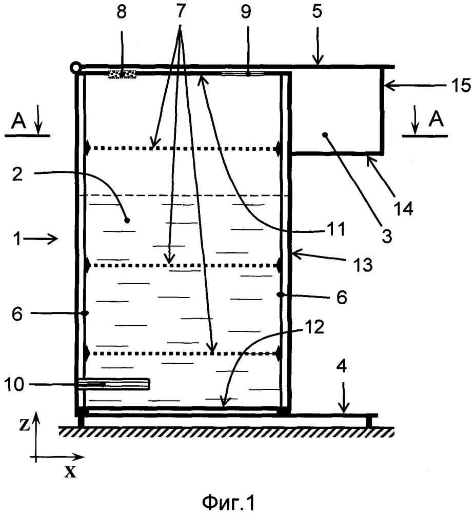 Бак для модуля водоподготовки