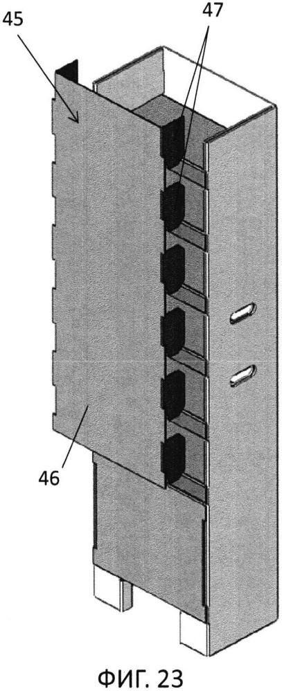 Витринная стойка для товаров (варианты)