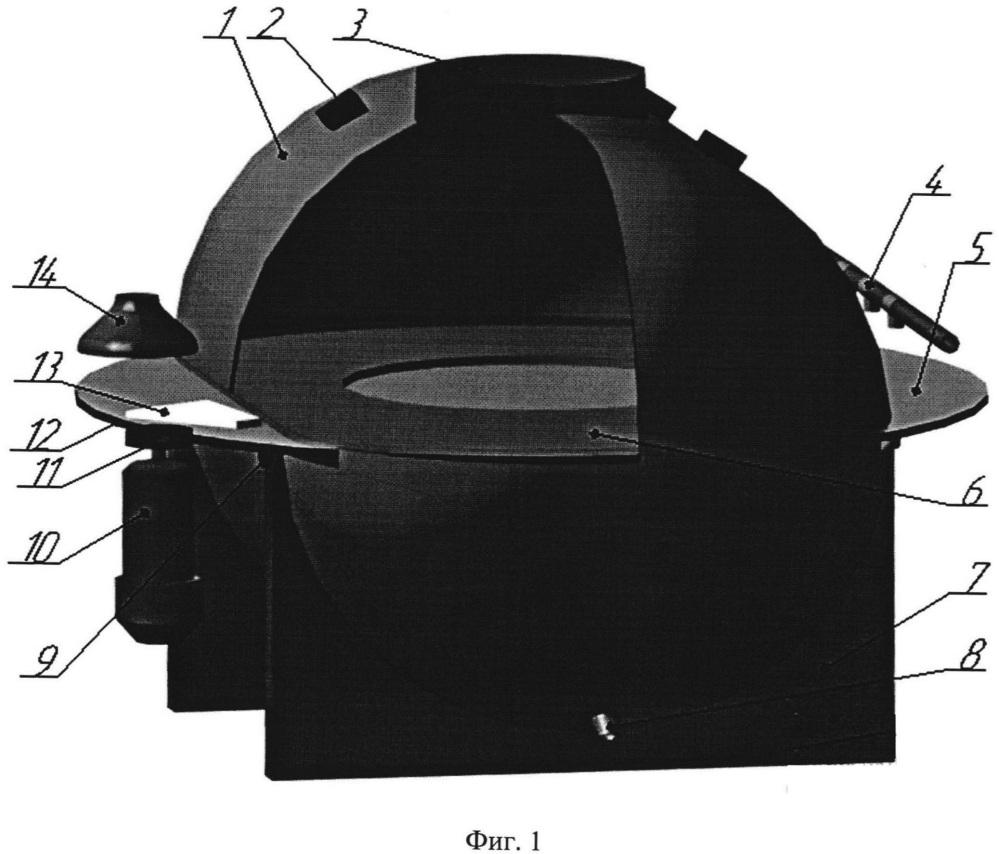Микроволновая установка с дисковым транспортером для отделения пуха от шкур кроликов