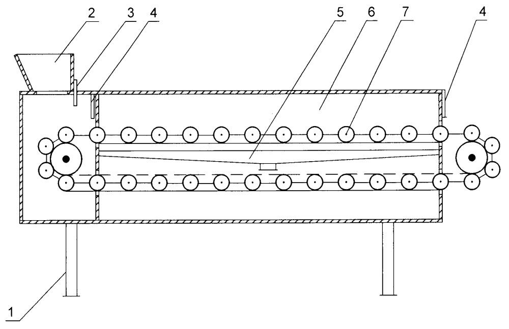 Аппарат для обработки растительного сырья в электромагнитном поле сверхвысокой частоты