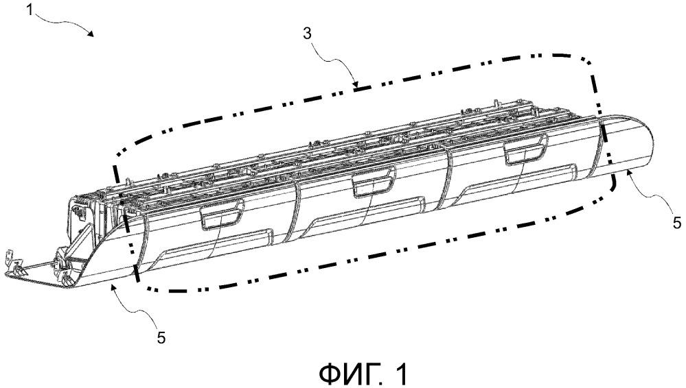 Потолочная консоль для кабины тяжелых коммерческих транспортных средств