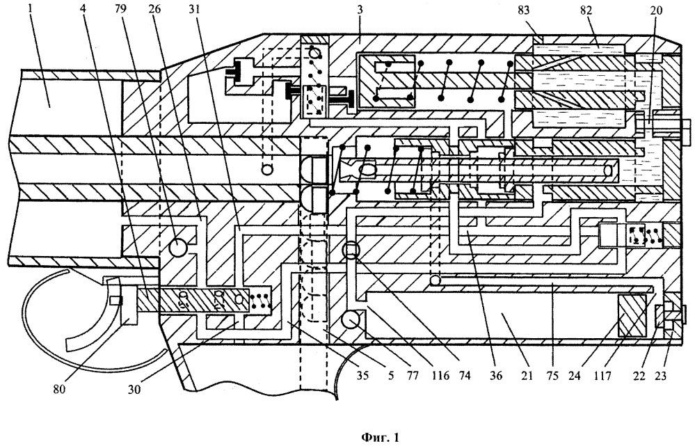 Способ работы беспатронного автоматического оружия со сбалансированной автоматикой и устройство для его осуществления