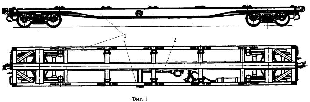 Способ изготовления продольных балок рамы грузовой железнодорожной платформы