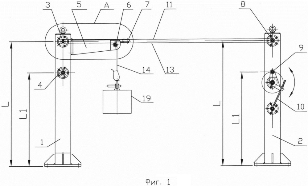 Способ и устройство для изготовления моноколец ленточных канатов