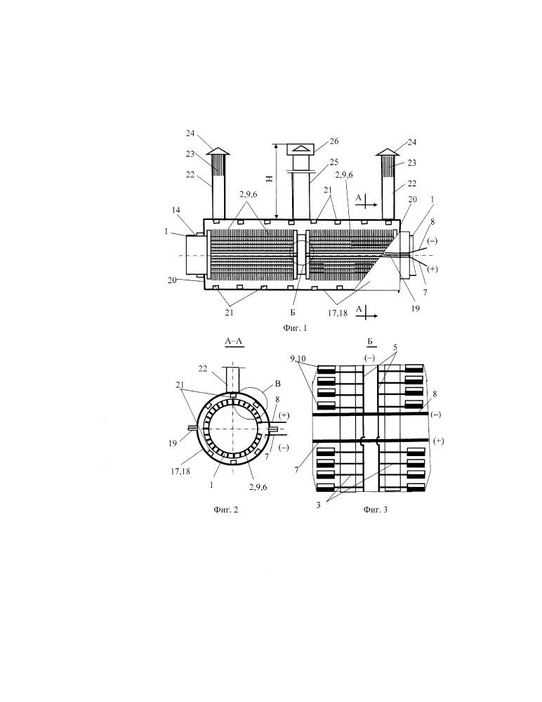 Автономный кожухотрубчатый термоэлектрогенератор