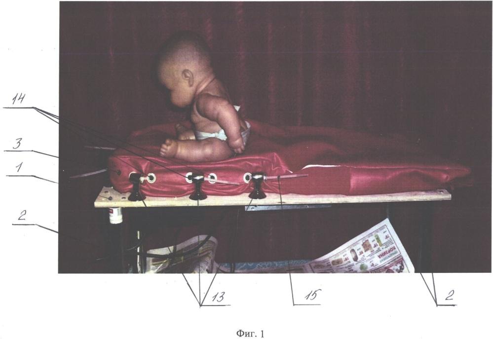 Устройство для активации и восстановления функций мозга с применением физической нагрузки для детей младшего возраста