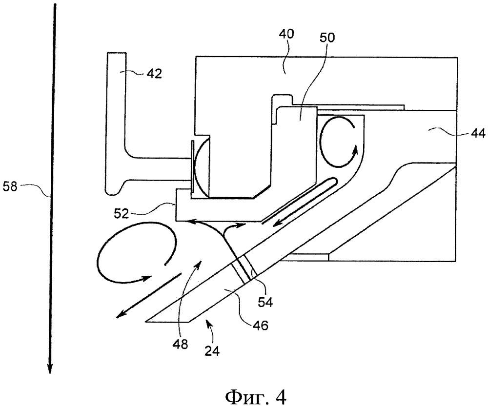 Устройство и способ для принудительного охлаждения компонентов газотурбинной установки