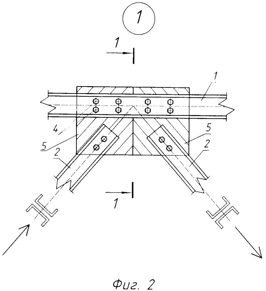 Узловое соединение стеклопластиковых профилей в решётчатой конструкции