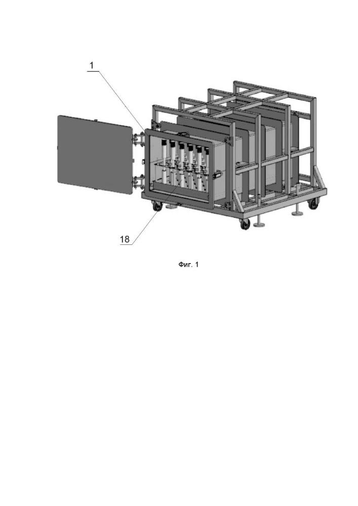 Устройство и способ для извлечения инертного газа из изделия, содержащего инертный газ