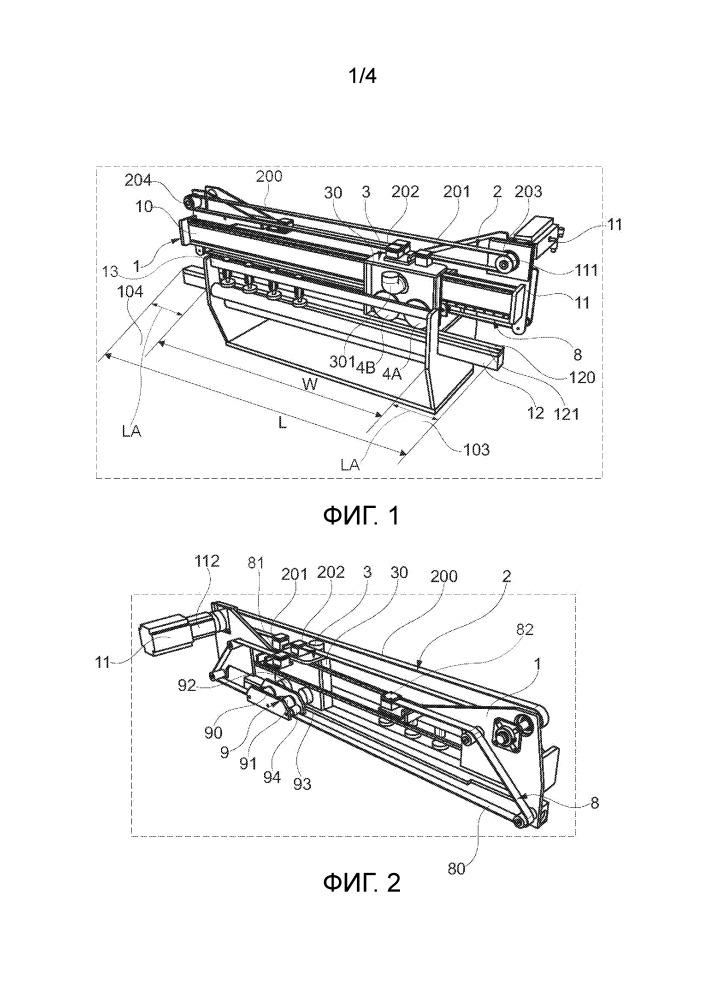 Круглопильное устройство для поперечной распиловки и способ поперечной распиловки объекта круглопильным устройством
