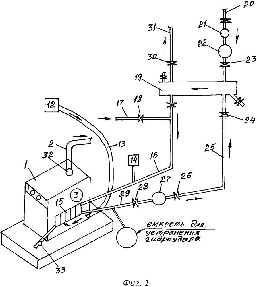 Способ работы отопительного котла в системе отопления