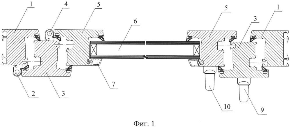 Светопрозрачная конструкция, обеспечивающая сброс избыточного давления внутри помещения (варианты)