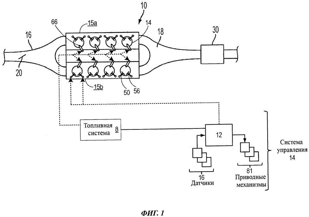 Способ прогрева каталитического нейтрализатора отработавших газов (варианты) и система двигателя