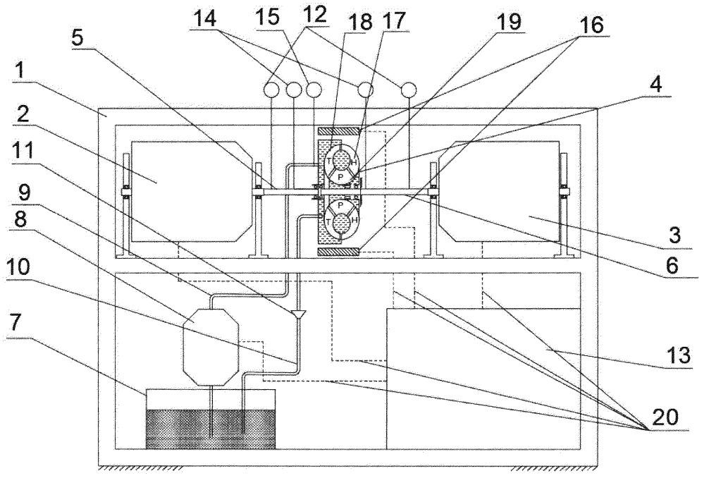 Стенд для испытаний агрегатов передач