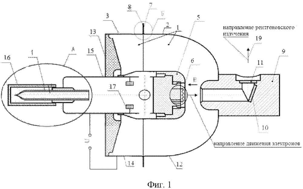 Высокоресурсная металлокерамическая рентгеновская трубка