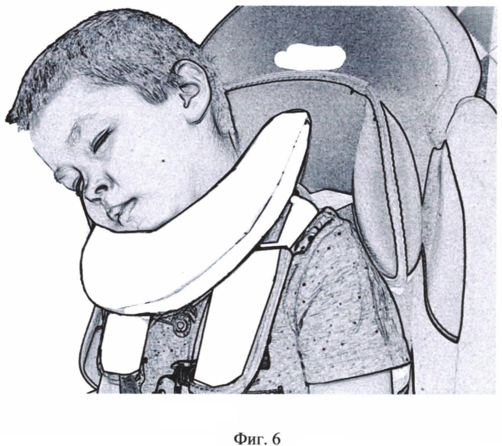 Подушка i-fiks.safesleep для поддержки головы ребенка во время сна в автокресле