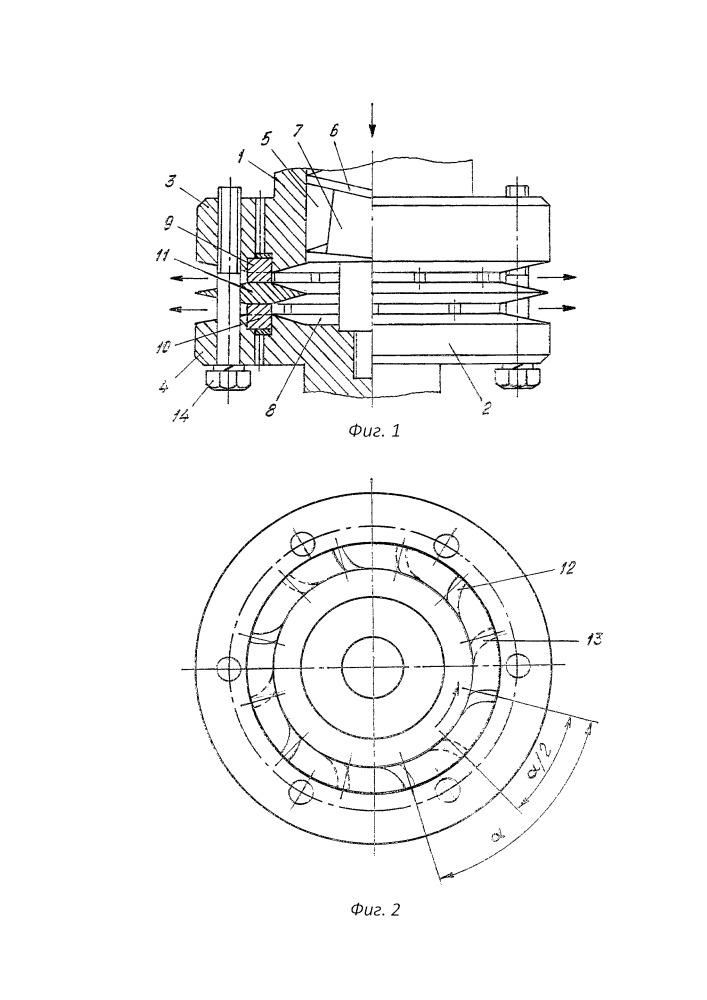 Кавитирующее устройство для стимуляции нефтеотдачи пластов скважин
