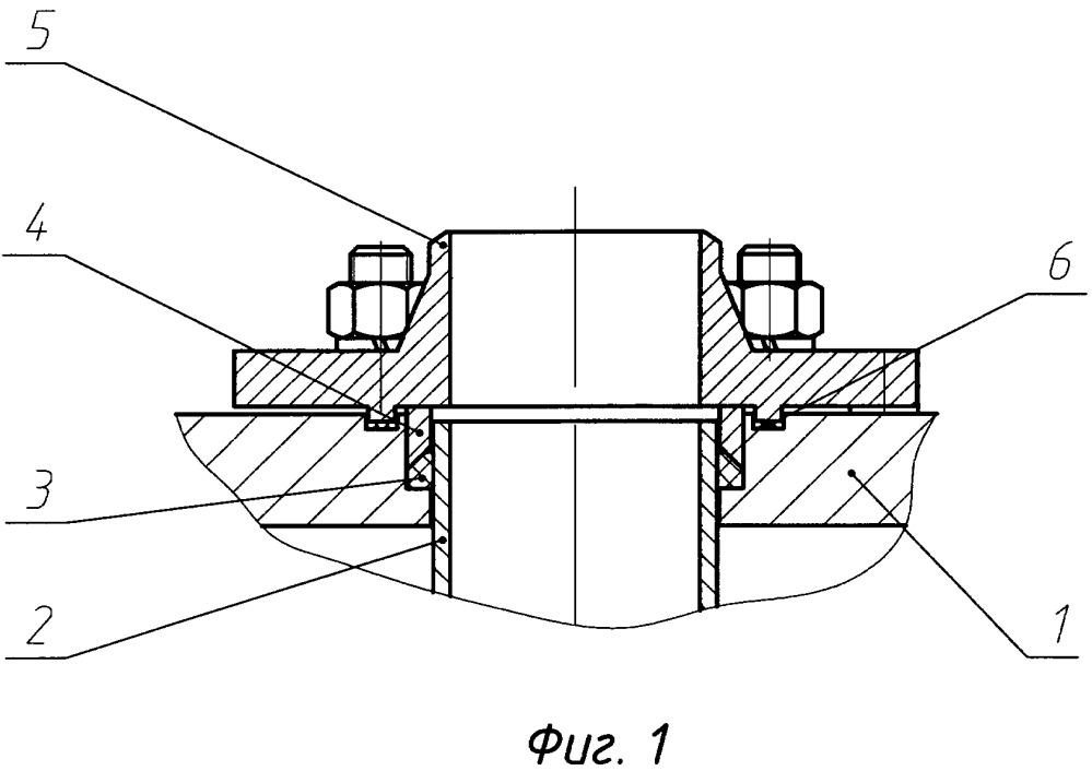 Уплотнение напорного трубопровода, опорной плиты и ответного фланца насосного агрегата (варианты)