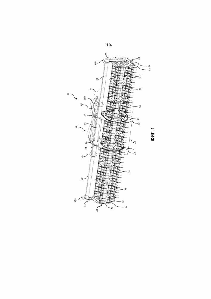 Усовершенствованное телескопическое мотовило
