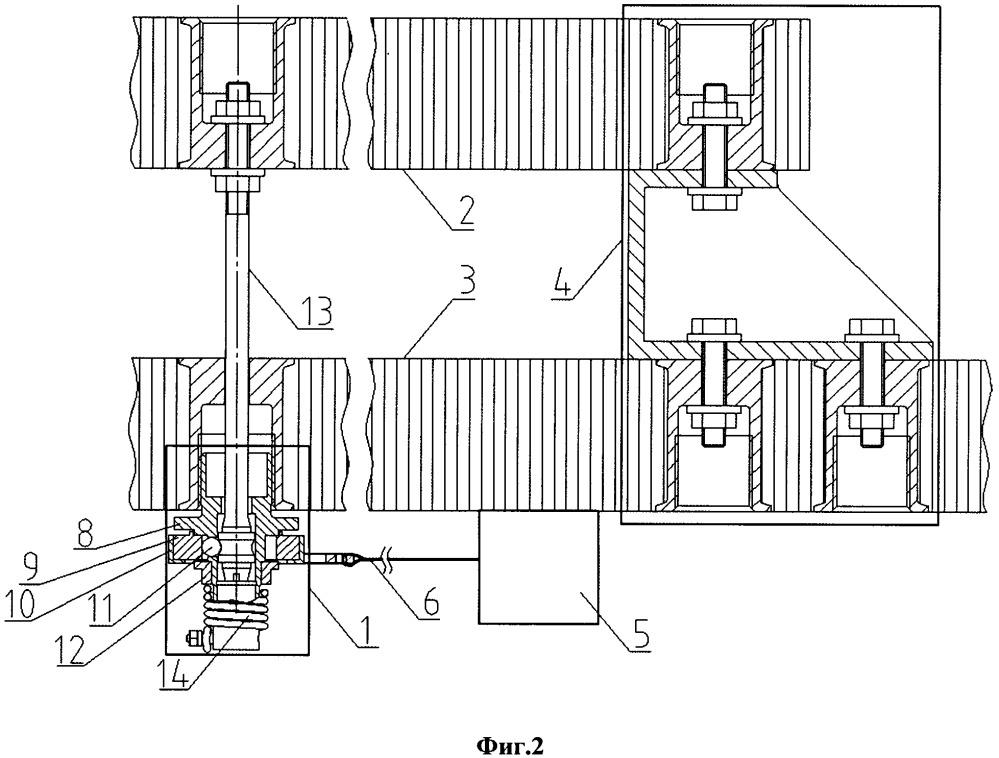 Устройство удержания элементов силовой конструкции космического аппарата