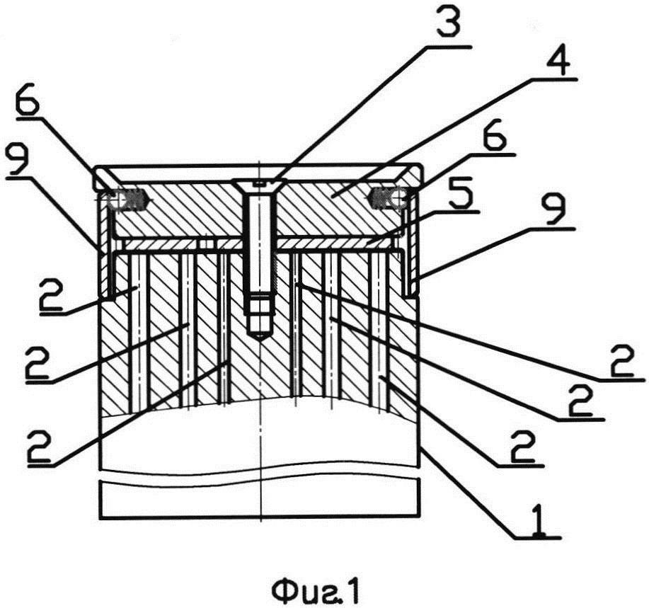 Кассета для организованного хранения сверл
