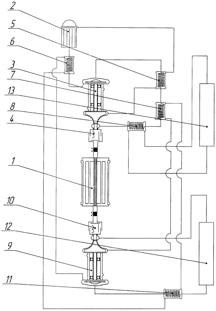 Энергетическая установка с машинным преобразованием энергии