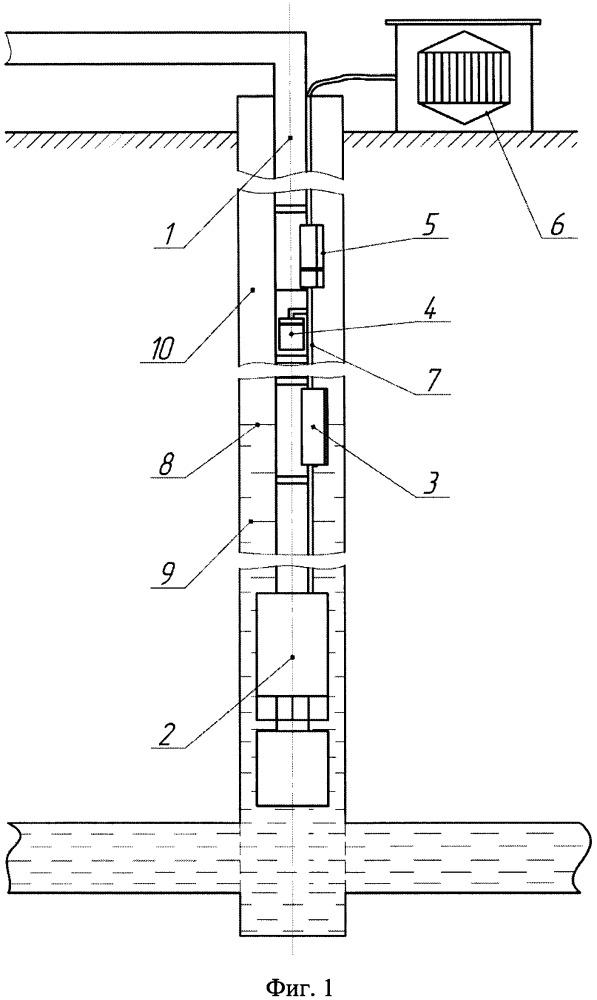 Устройство для стабилизации давления на приеме установки электроцентробежного насоса