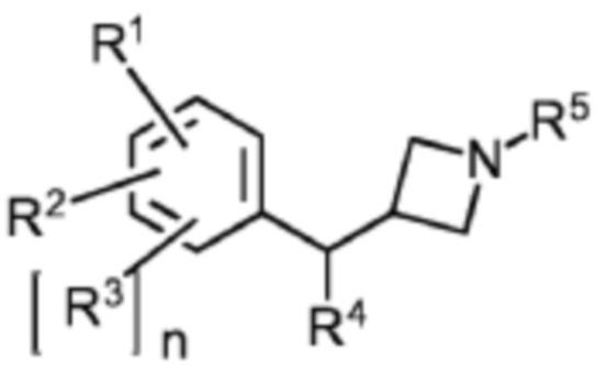 Новые производные азетидина, полезные в качестве модуляторов кортикальной катехоламинергической нейротрансмиссии