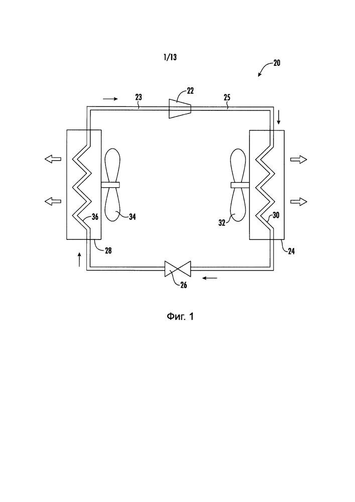 Центробежный компрессор с рециркуляционным каналом