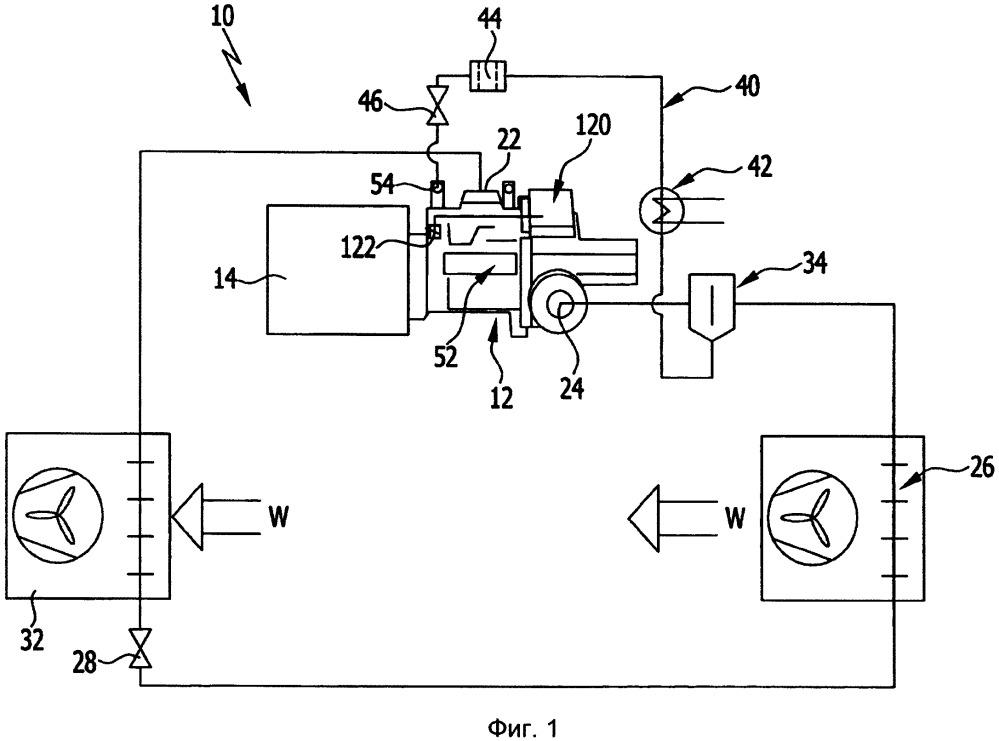 Компрессорный модуль холодильного агента