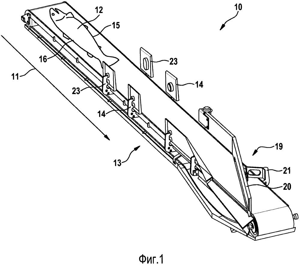 Способ и устройство для выявления положения брюшка/спинки рыбы, транспортируемой с помощью транспортирующего приспособления