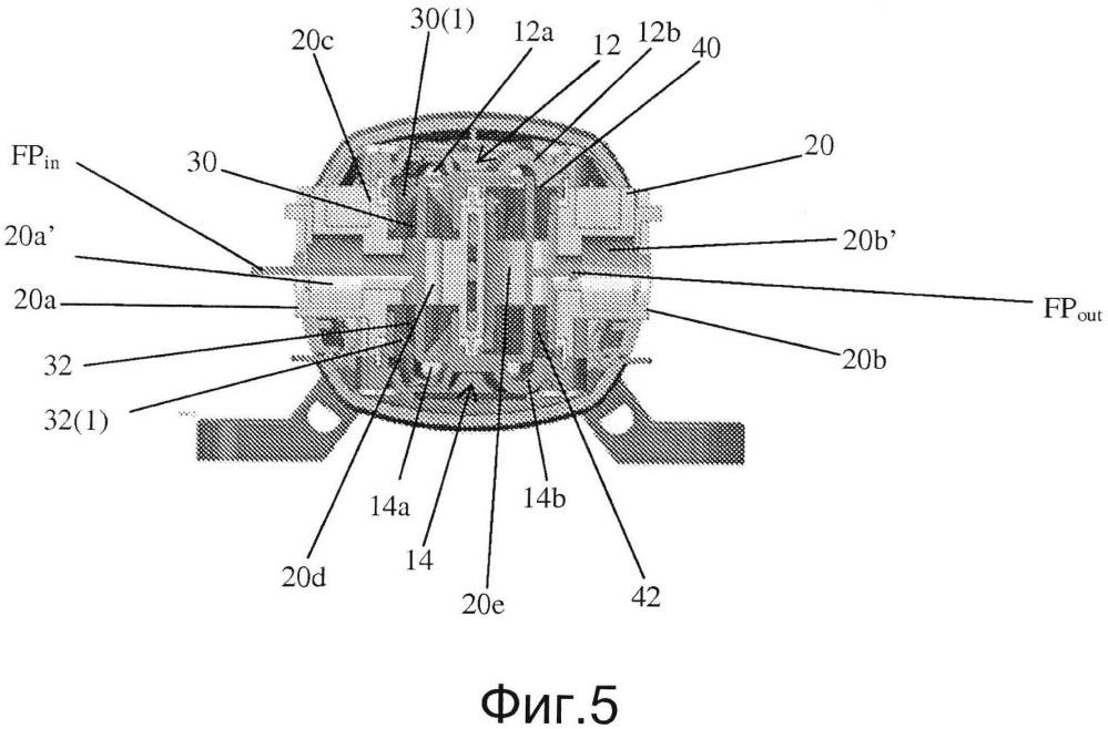 Диафрагменный насос с клапанами типа утиный нос, разнонаправленными отверстиями и гибкими электрическими подключениями