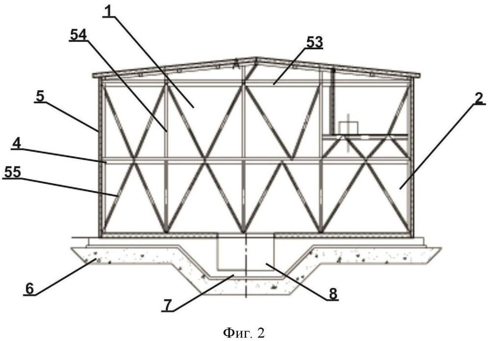 Модульный теплоэнергетический комплекс и способ нагрева шахтного воздуха, осуществляемый с его помощью