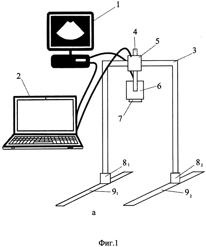Роботизированная система ультразвукового томографического обследования
