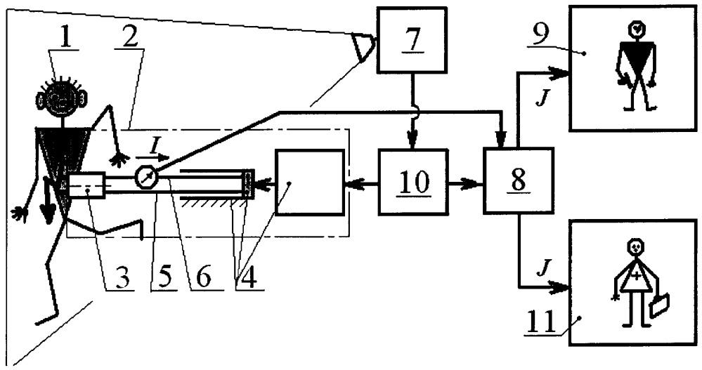 Охранная система с электрошоковыми минами нелетального действия