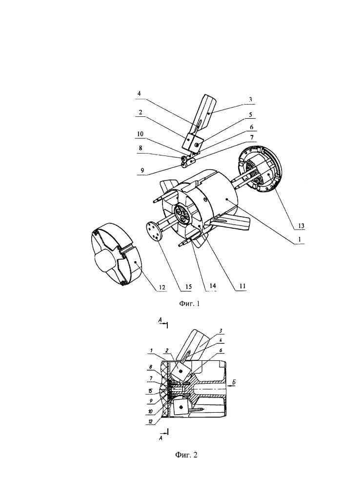 Рулевой блок беспилотного управляемого летательного аппарата