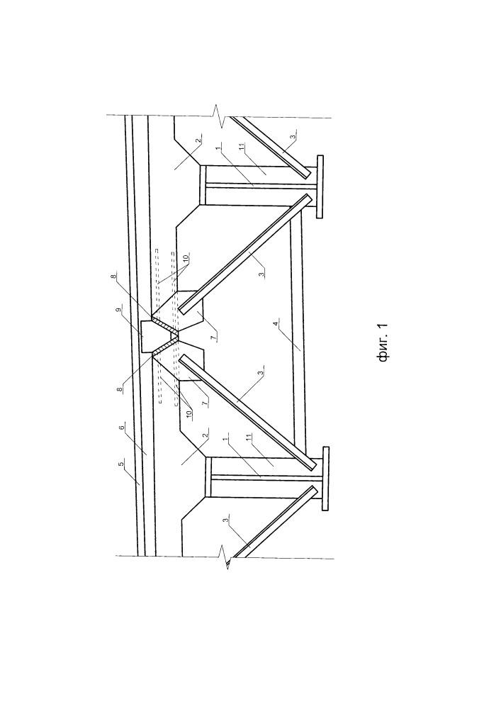 Сталежелезобетонное пролетное строение моста