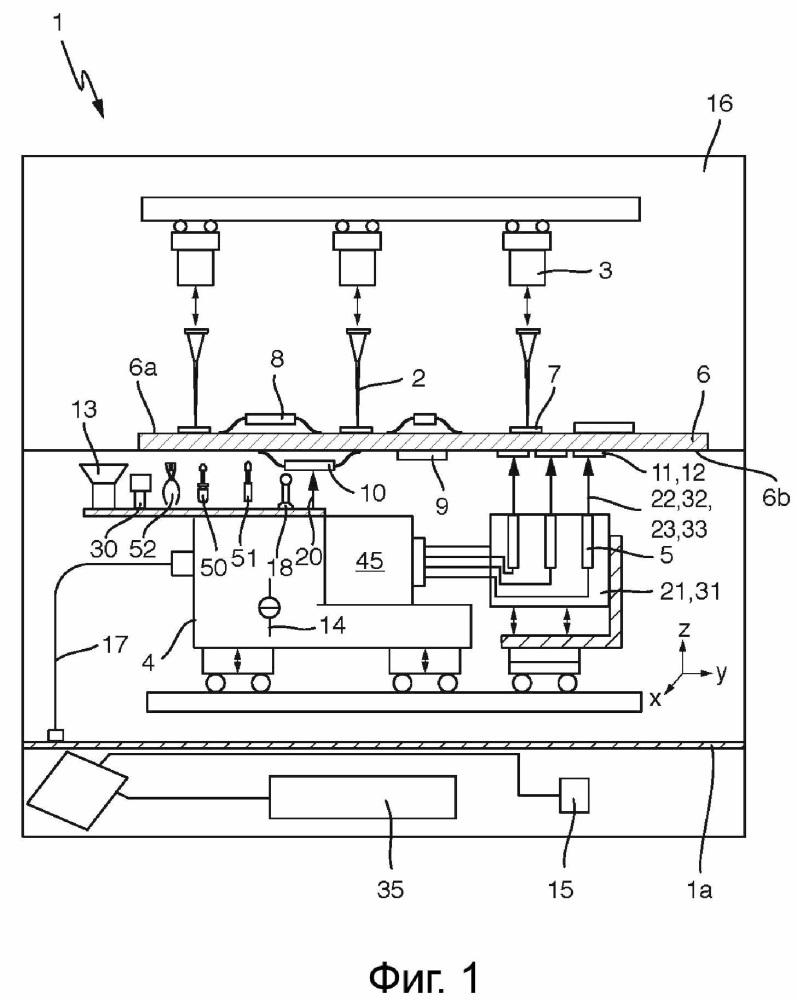 Тестовая система для контроля электронных соединений