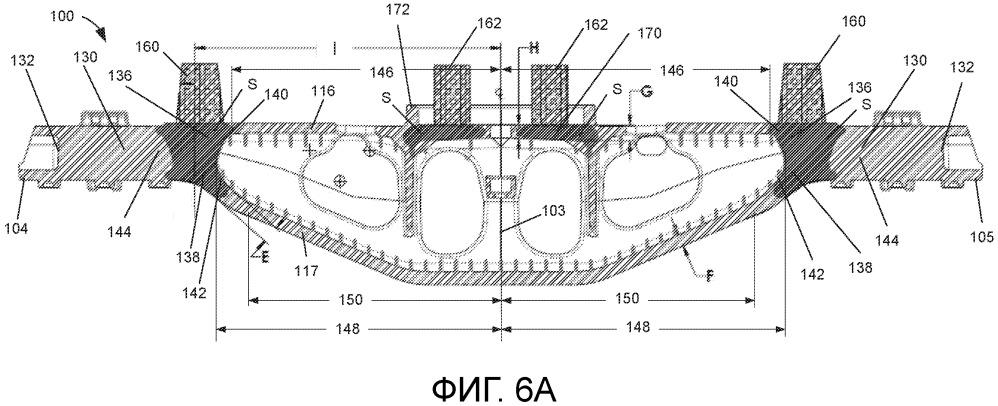 Надрессорная балка для железнодорожной тележки и способ изготовления надрессорной балки