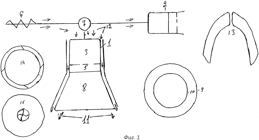 Вертикально ориентированный турбореактивный двигатель силовой установки летательного аппарата вертикального взлета и посадки, силовая установка летательного аппарата вертикального взлета и посадки, а также летательный аппарат вертикального взлета и посадки