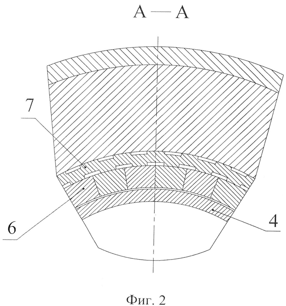 Щелевое уплотнение-демпфер центробежного насоса