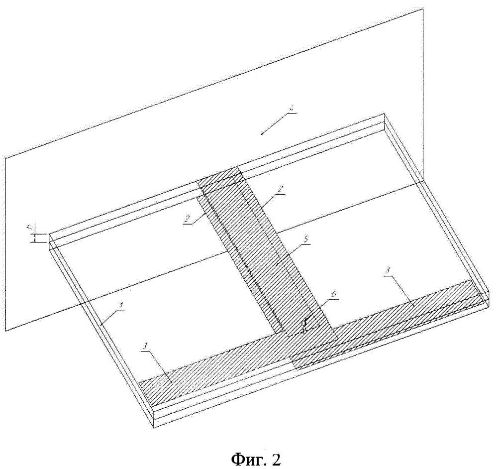 Симметричный вибратор в печатном исполнении