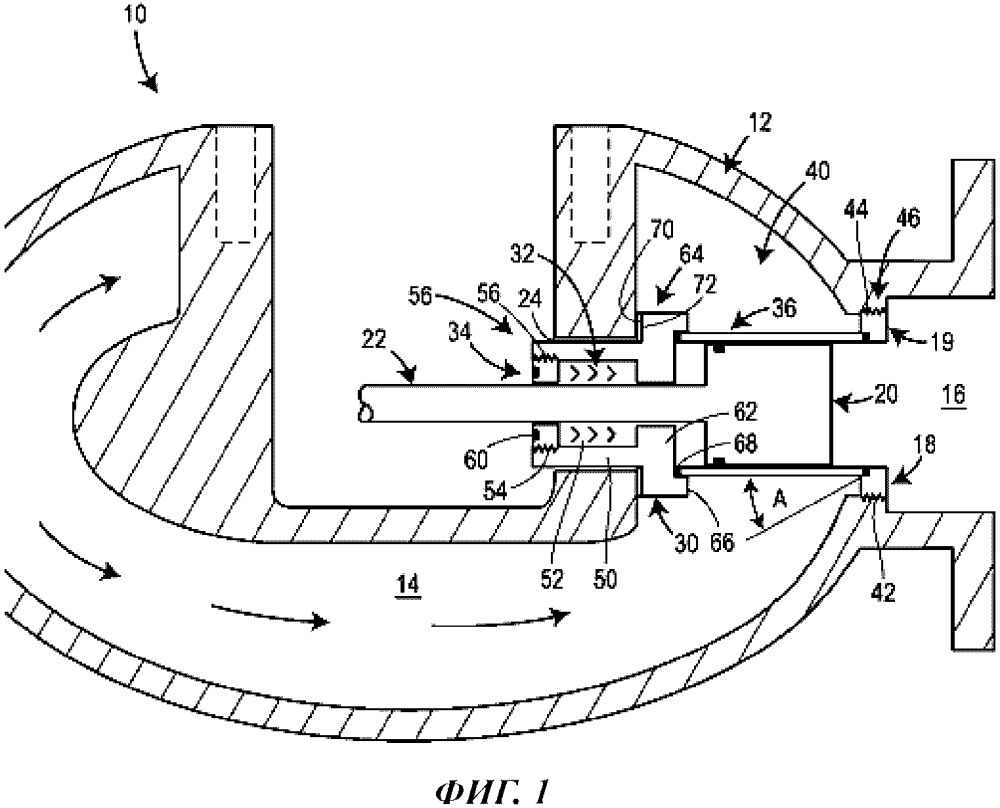 Узел зажимной крышки для регулирующего клапана с осевым потоком и регулирующий клапан с осевым потоком, содержащий указанный узел