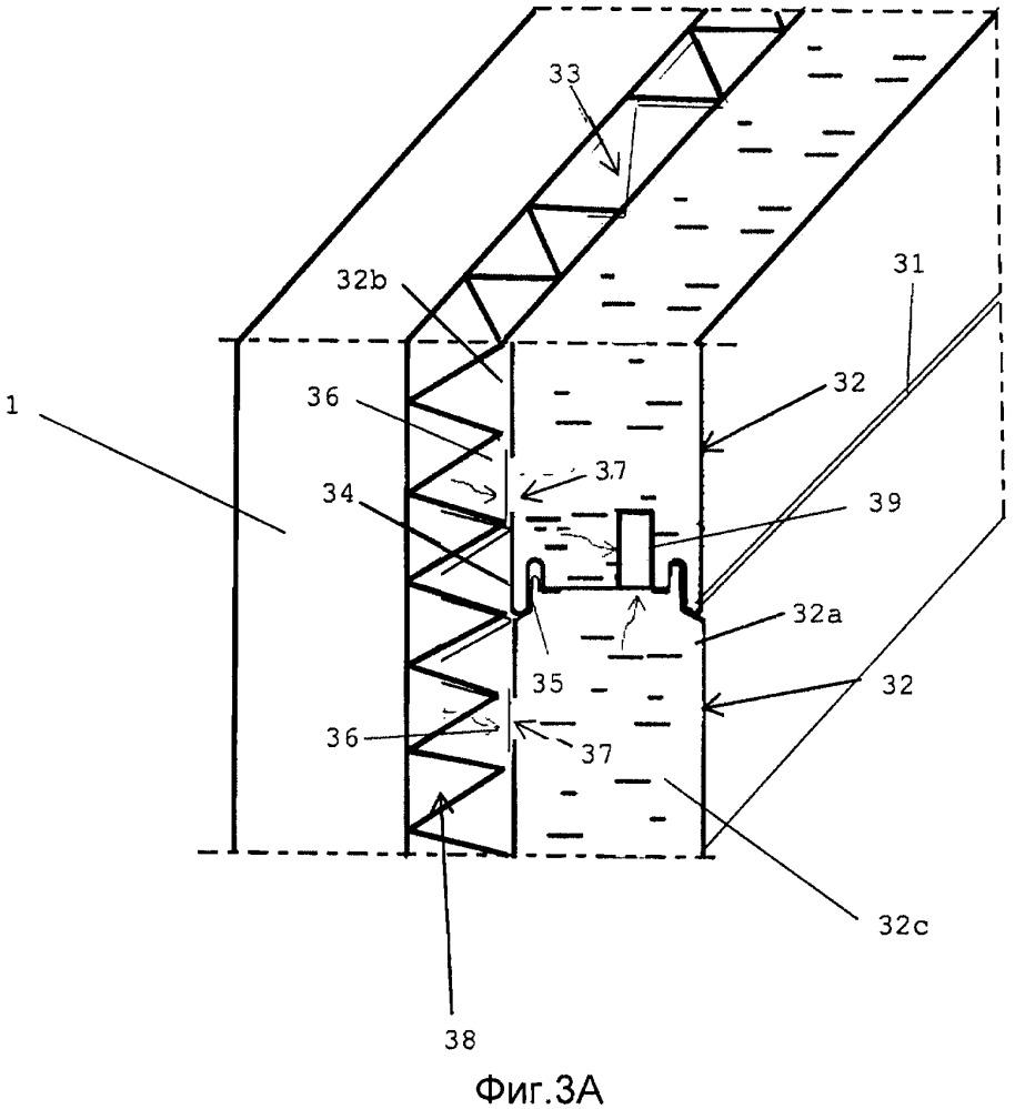 Конструкция для реновации наружной оболочки здания