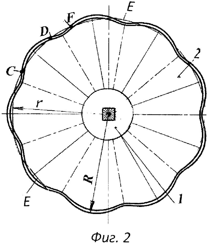 Диск почвообрабатывающий гофрированный сферический