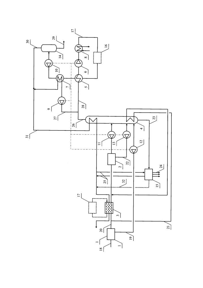 Установка низкотемпературного фракционирования для комплексной подготовки газа и получения спг