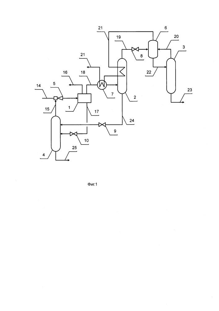 Трехпродуктовая установка комплексной подготовки газа (варианты)