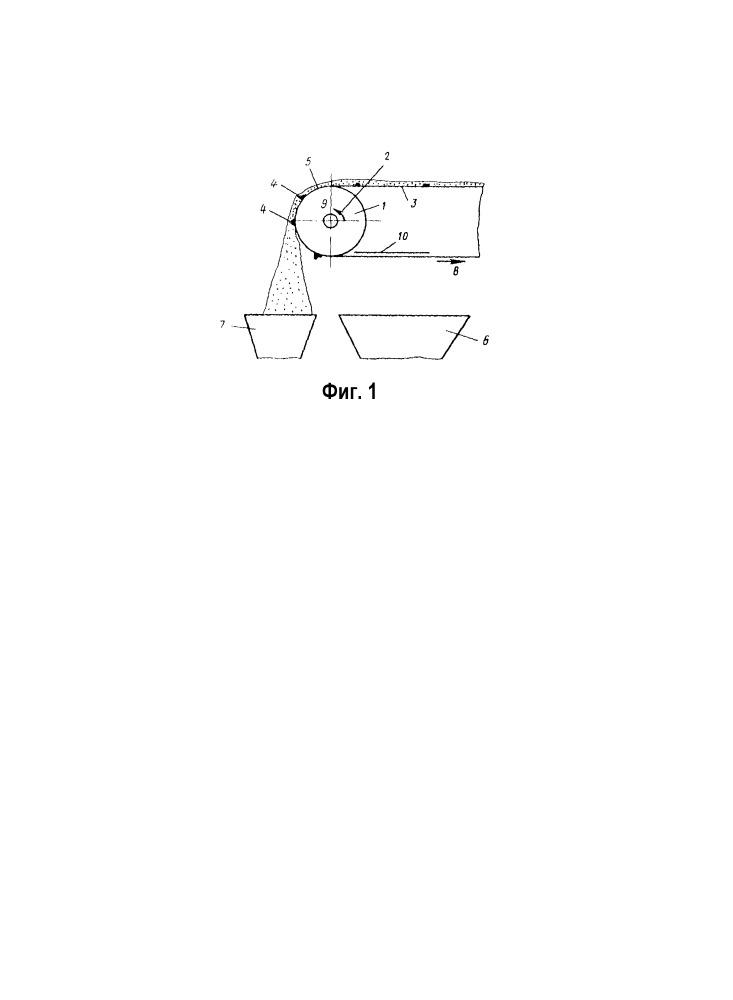 Электромагнитный шкивной железоотделитель